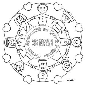 23-nisan-boyama