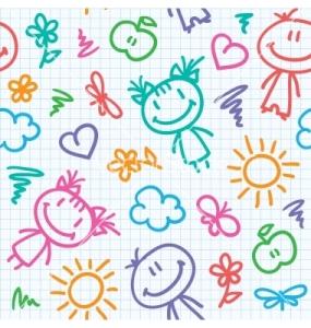hand-drawn-kid-pattern-vector-811851