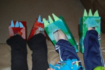 dinozor ayakları