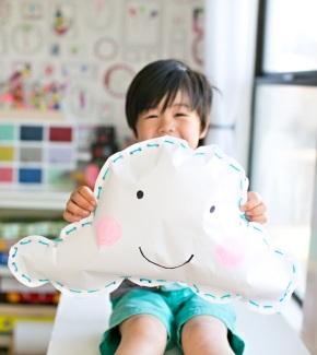 Hafta Sonu Etkinliği: Mutlu Bulut Kağıt YastıkYapımı